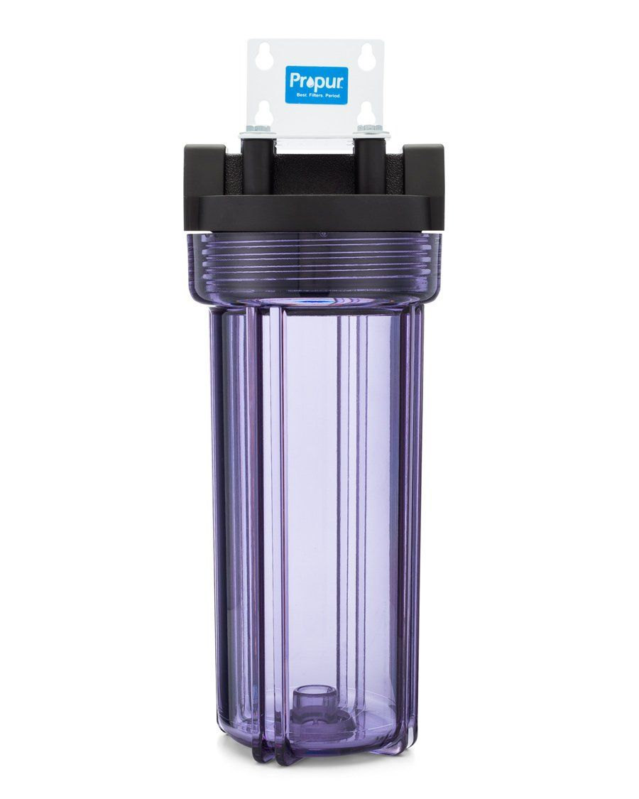 Propur Pre Sediment Filter Assembly With 5 Micron Cartridge And Mounting Bracket In 2020 Whole House Water Filter House System Sediment