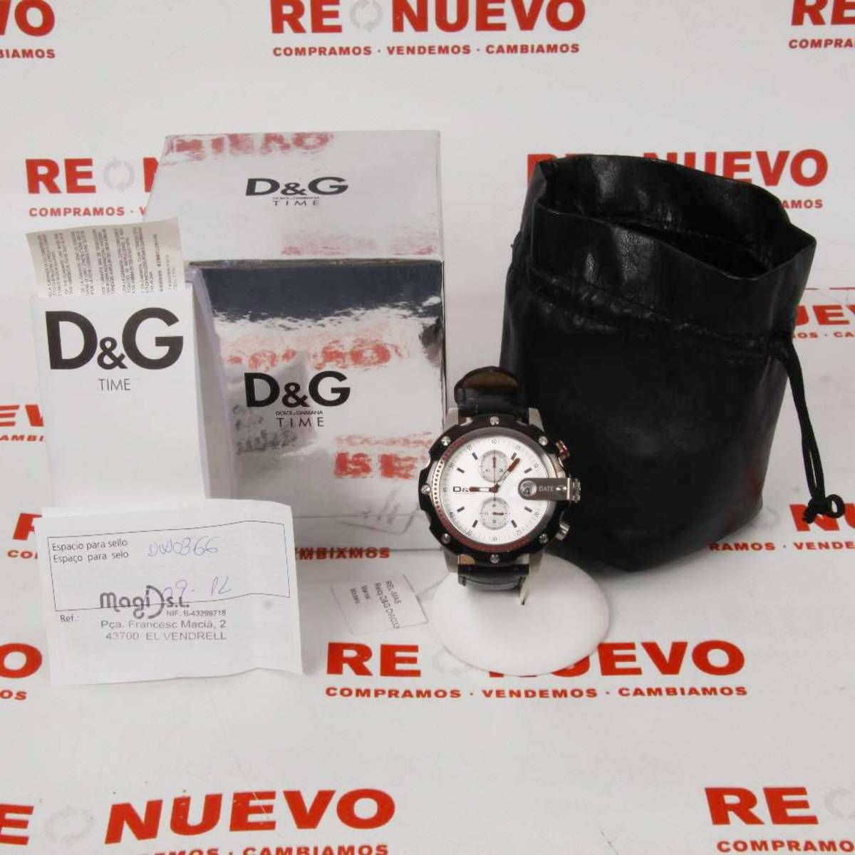 61d7065d1bf4  Reloj  D G  DW0336 E267856 de segunda mano