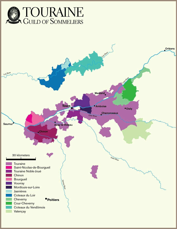 Виноградники Турена