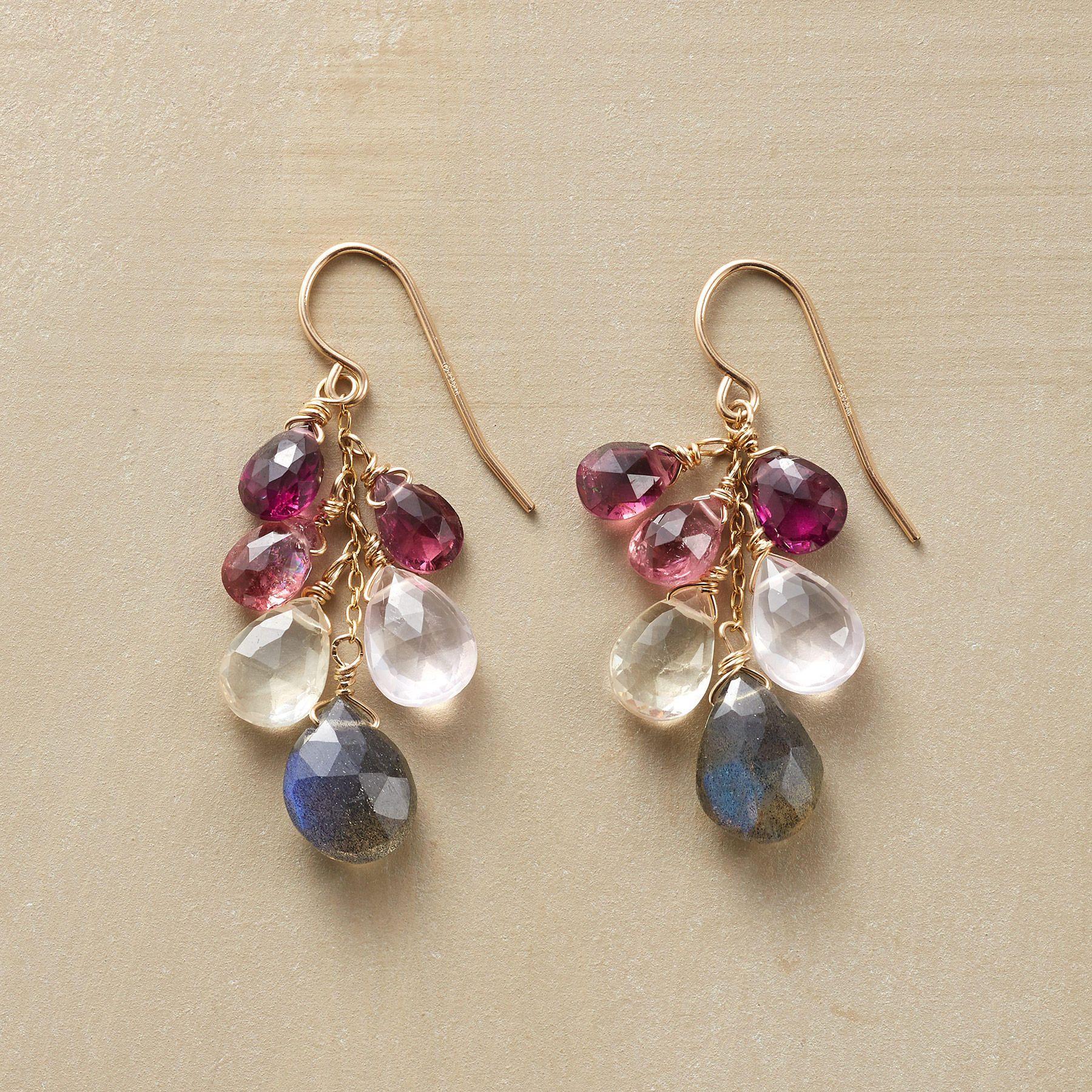 Brio Cascade Earrings - Pair Of Thoi Vo Gemstone