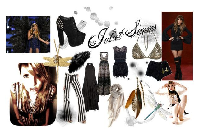 """""""Juliet Simms"""" by cydnehsix-bvb ❤ liked on Polyvore featuring AllSaints, Project D London, Alice + Olivia, Dige Designs, Love Quotes Scarves, Gilded Lily Goods, sass & bide and juliet simms the voice bvb automatic loveletter"""