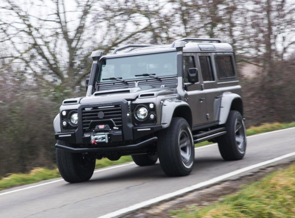Special Edition Supercharged Defender Is Ultimate 220 000 Off