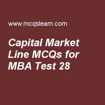 Mba Quiz  To Learn Investment Analysis And Portfolio Management