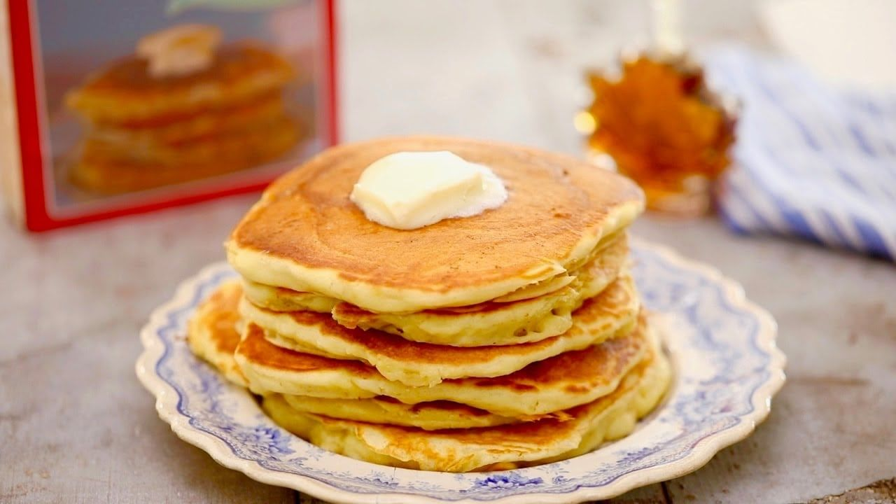 Best homemade pancake recipe w video bigger bolder