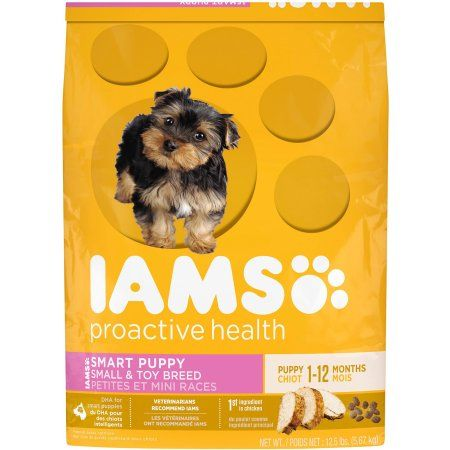 Iams Proactive Health Smart Puppy Small & Toy Breed Dog