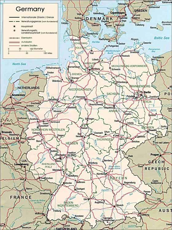 Deutschlandkarte Bonus