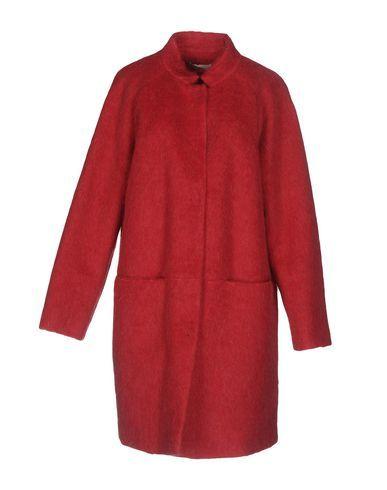 STEFANEL Women's Coat Fuchsia XL INT