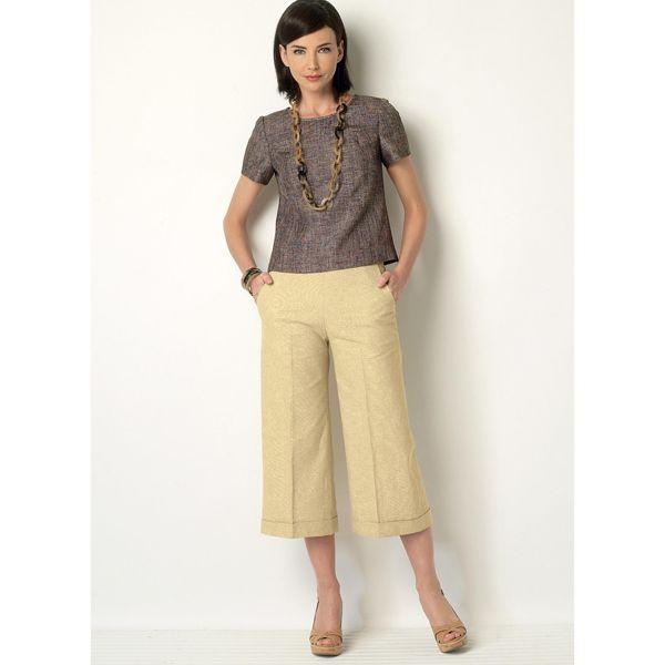 Shirt   Hose, Butterick 6183   40 - 48   Schnittmuster   Hosen ... f7d7e00171