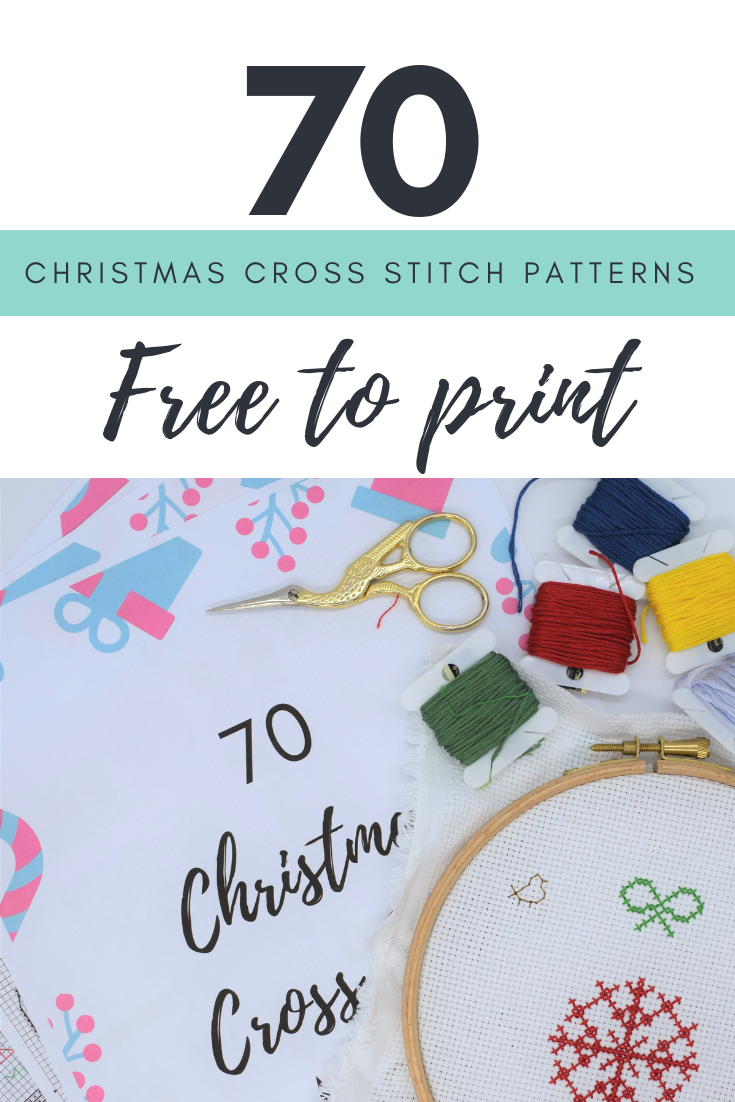 Free Printable Christmas Ornament Cross Stitch Patterns.70 Christmas Cross Stitch Patterns Free To Print Counted