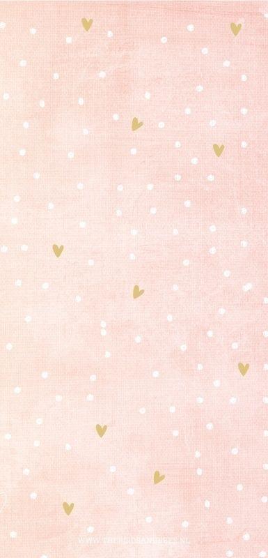 motifs petits coeurs et points blancs sur fond rose pastelle. | Fond rose, Papier peint motif ...
