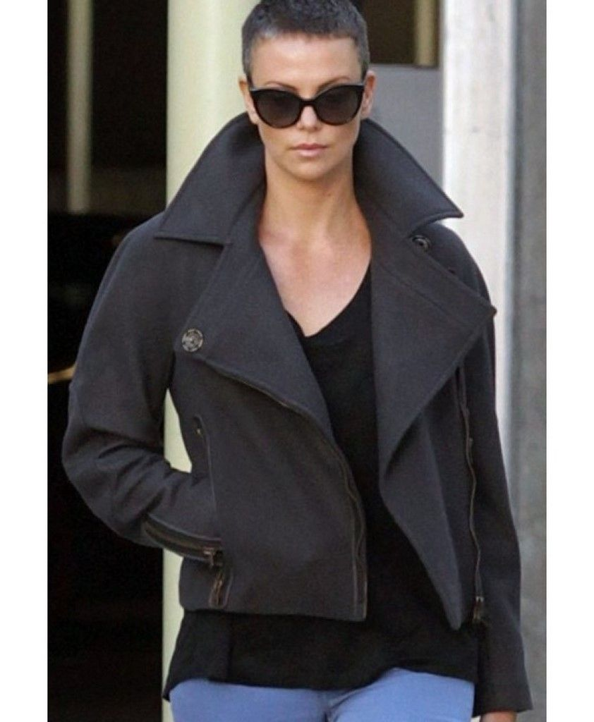 Mad Max Fury Road Charlize Theron Black Jacket For Womens