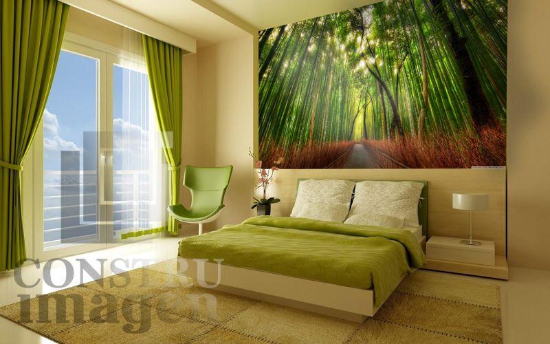 Disponible fotomural modelo bosque pac fico for Cortinas para dormitorio matrimonial