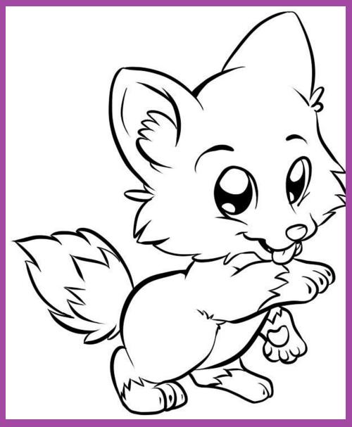 Dibujos Animados Para Dibujar Faciles De Animales