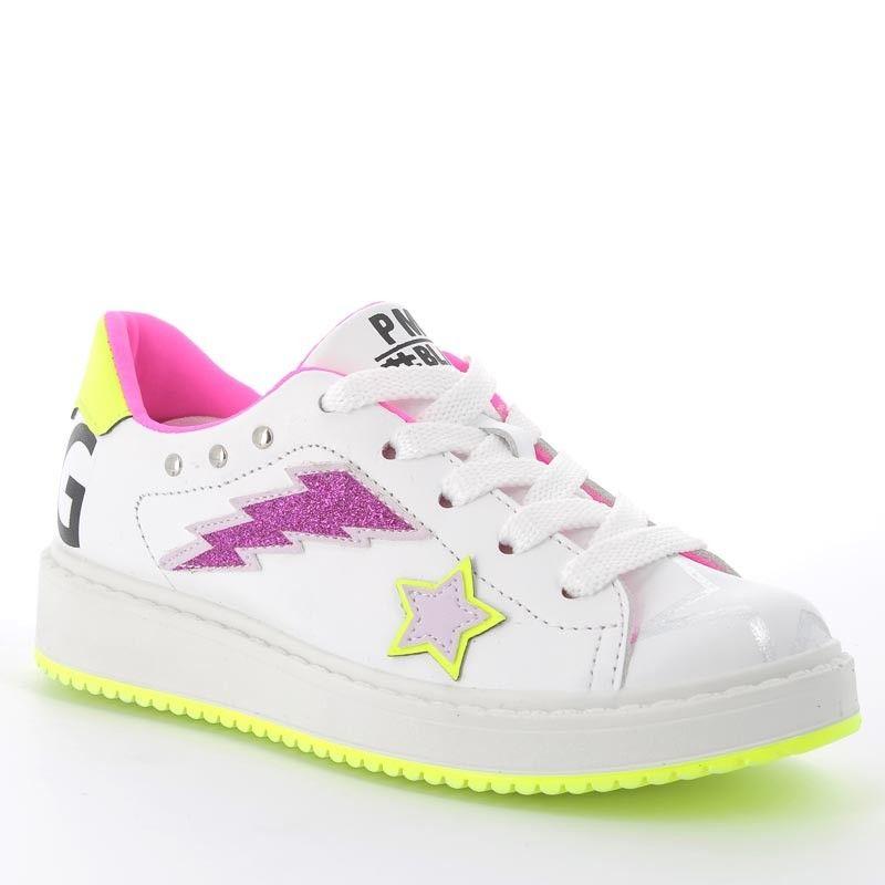 Sneakersy Dziewczece Primigi 5375400 Biale High Top Sneakers Top Sneakers Sneakers