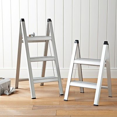 Pleasing Ultraslim Aluminum Step Stools Bar Stools Kitchen Step Customarchery Wood Chair Design Ideas Customarcherynet