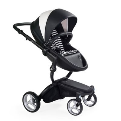 Mima Xari Black Chassis Stroller In Black White Products Baby