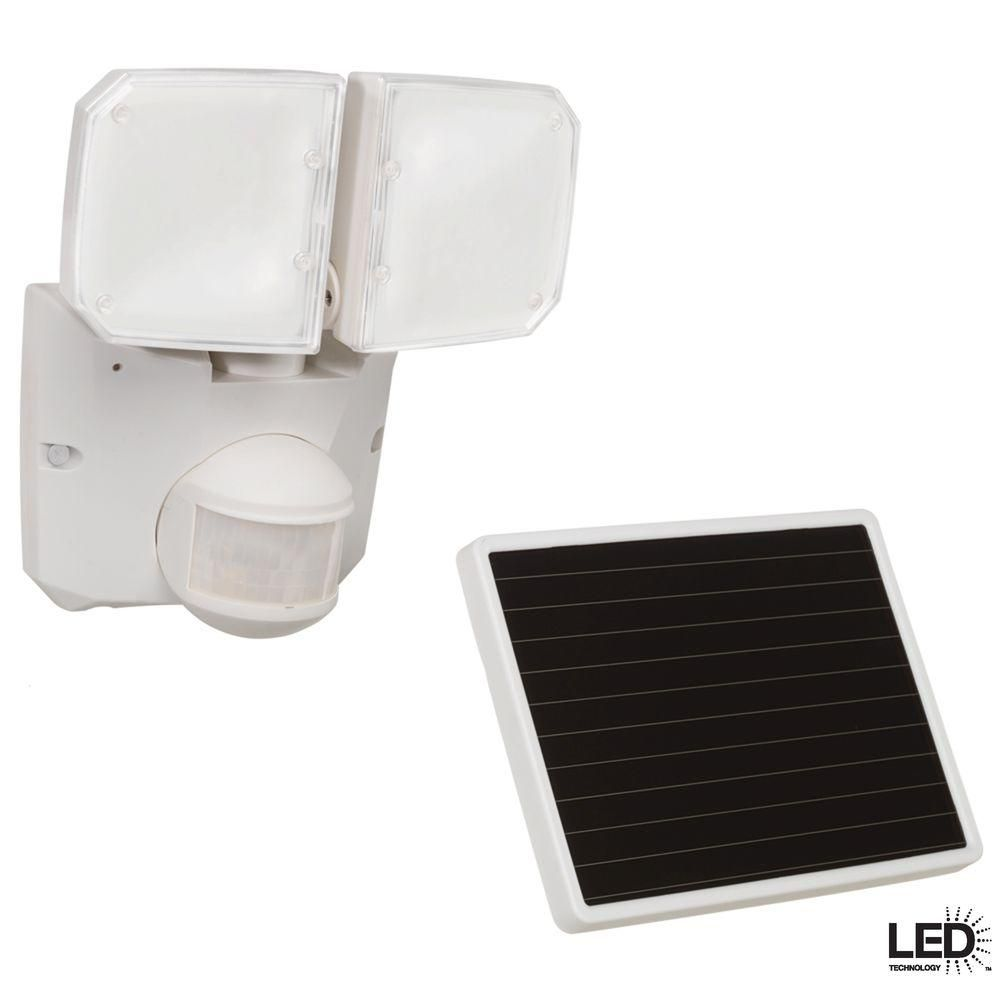 Cooper Lighting Msled180w Motion Activated Solar Powered Led ...