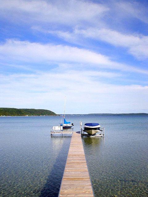 Crystal lake dock