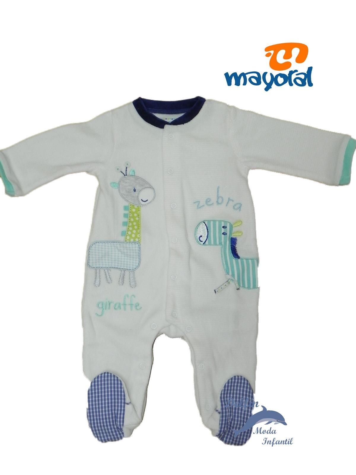 Pijama MAYORAL terciopelo bebe