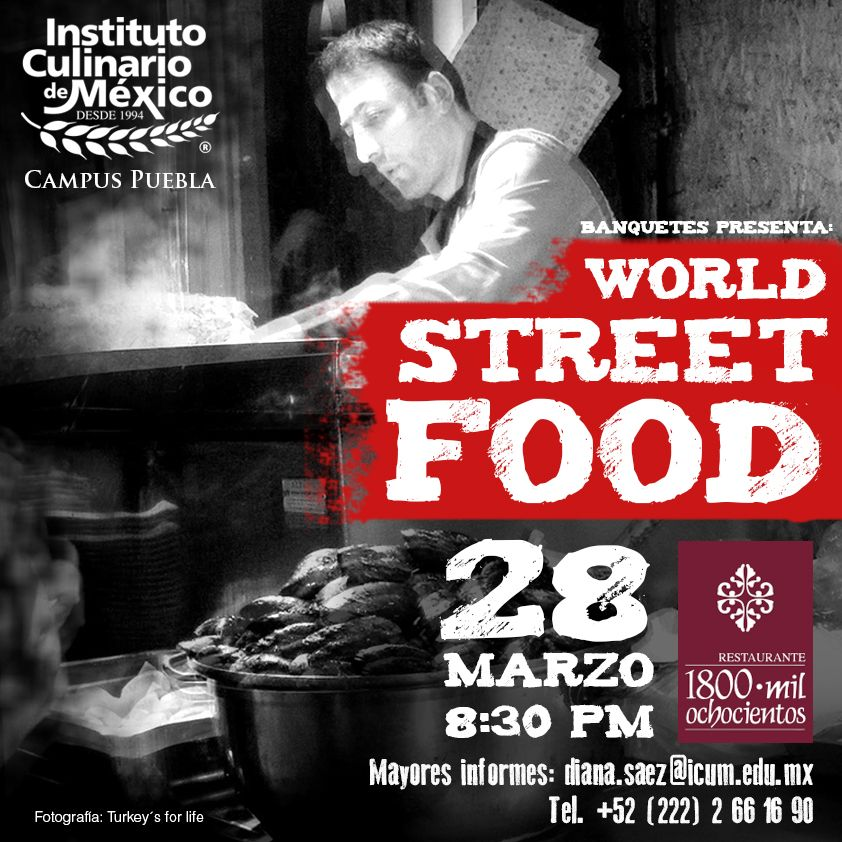 Banquetes presenta: World Street Food.