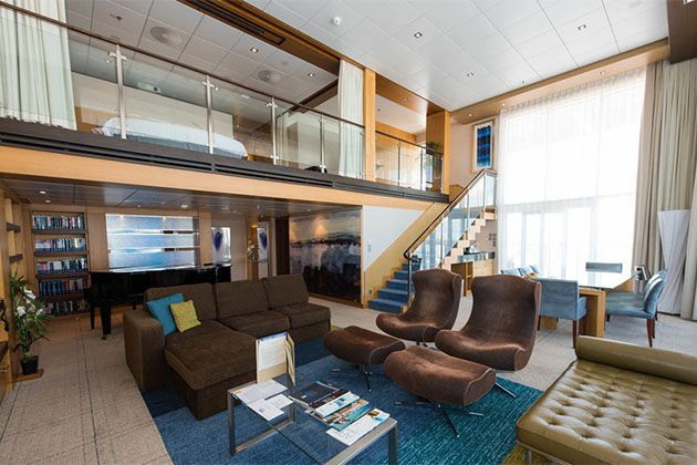 The Royal Loft Suite With Balcony On Oasis Of Seas Photo Cruise Critic