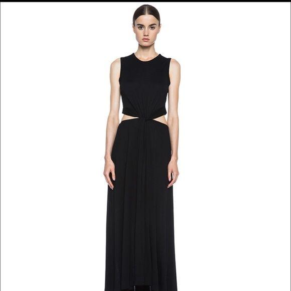 Alc black maxi dress