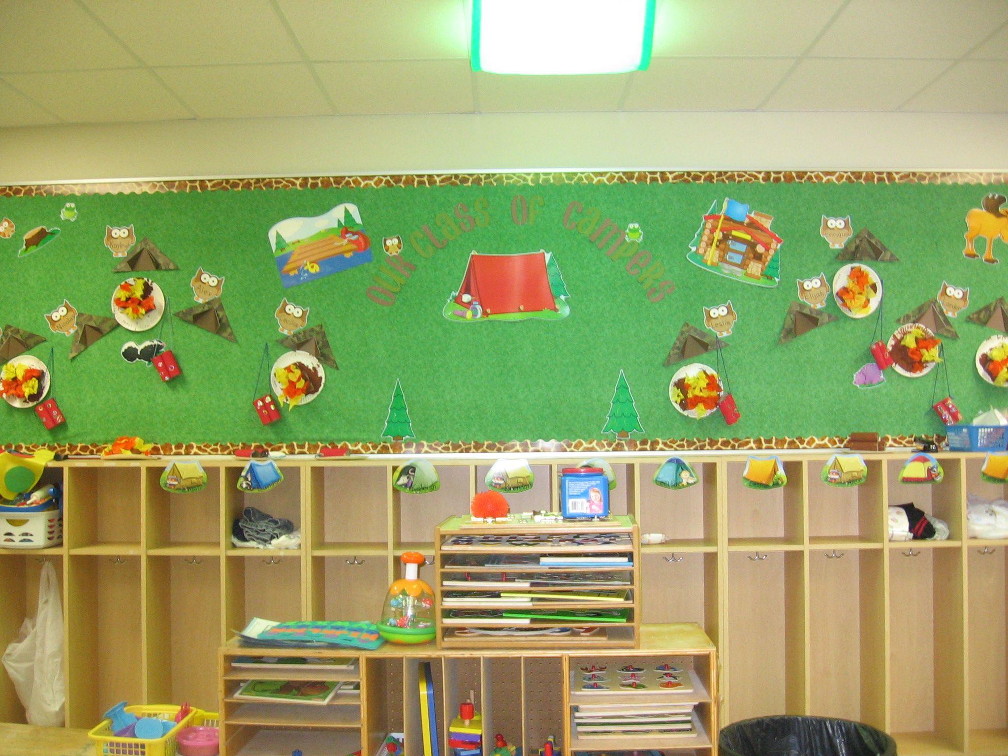 Classroom Theme Ideas Preschool : Camping theme preschool classroom themes pinterest