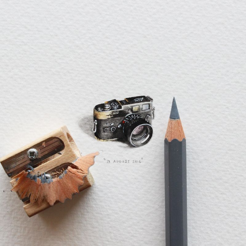 This is soooo amazing!  365 Postcards for Ants by Lorraine Loots | iGNANT.de
