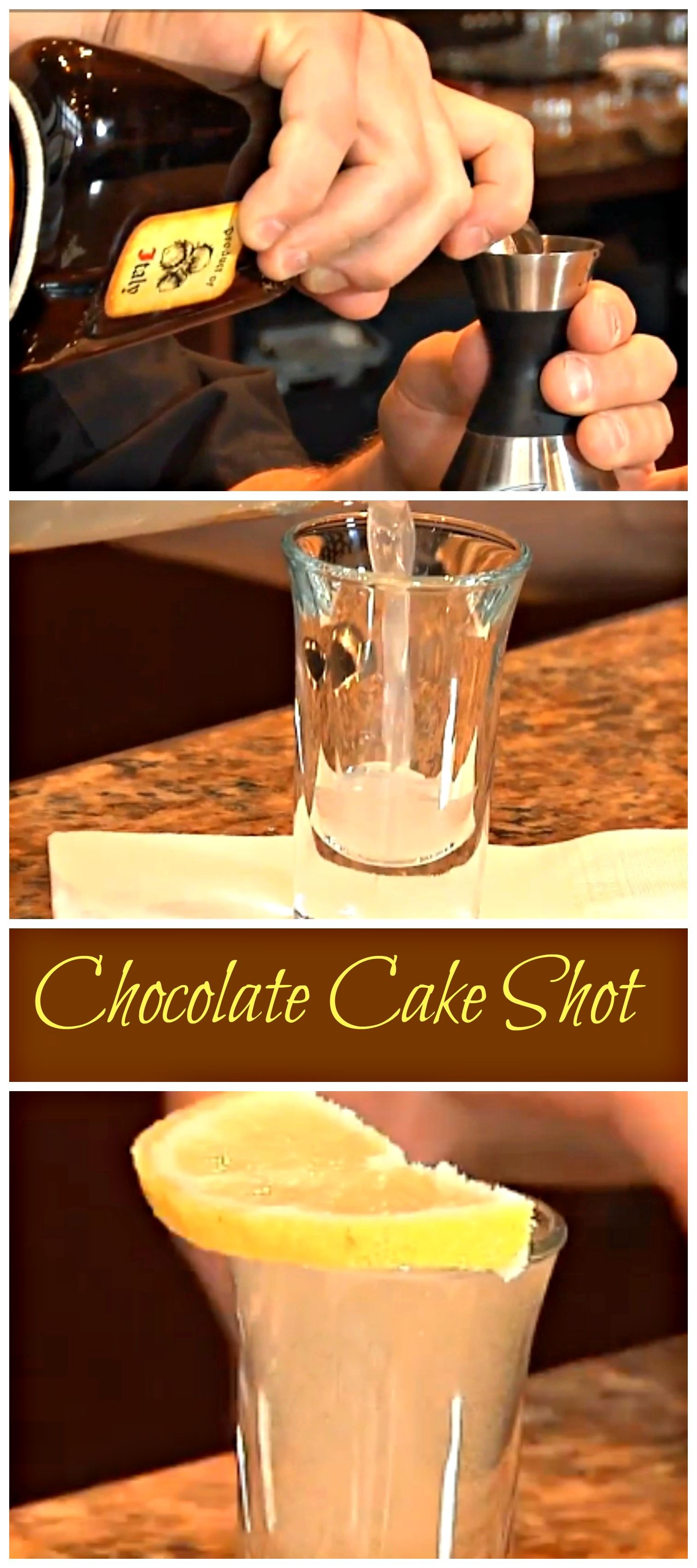 Chocolate Cake Shot! Have your cake and drink it too with this ...