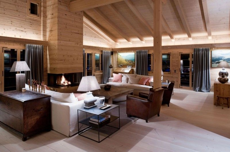 Beau Decoration Style Chalet #13: Chalet In Gstaad By Ardesia Design