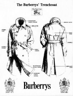 differently 36532 ac590 Original Burberry trench is still a classic for men ...