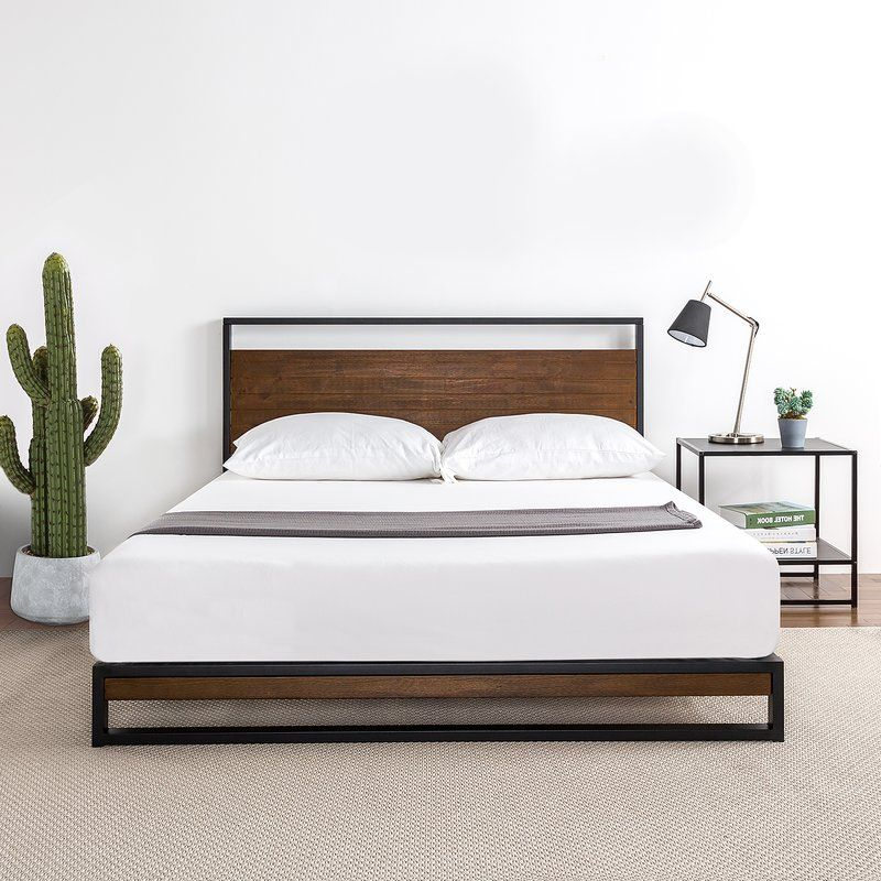 Dennise Platform Bed In 2019 Habitat Wood Platform Bed