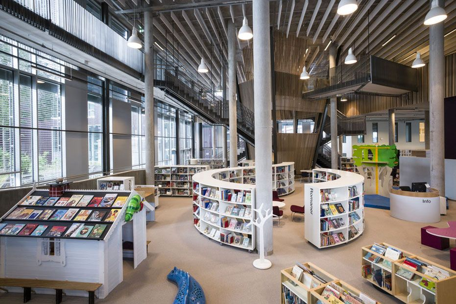 Bci Libraries Modern Library Installation Projects Home