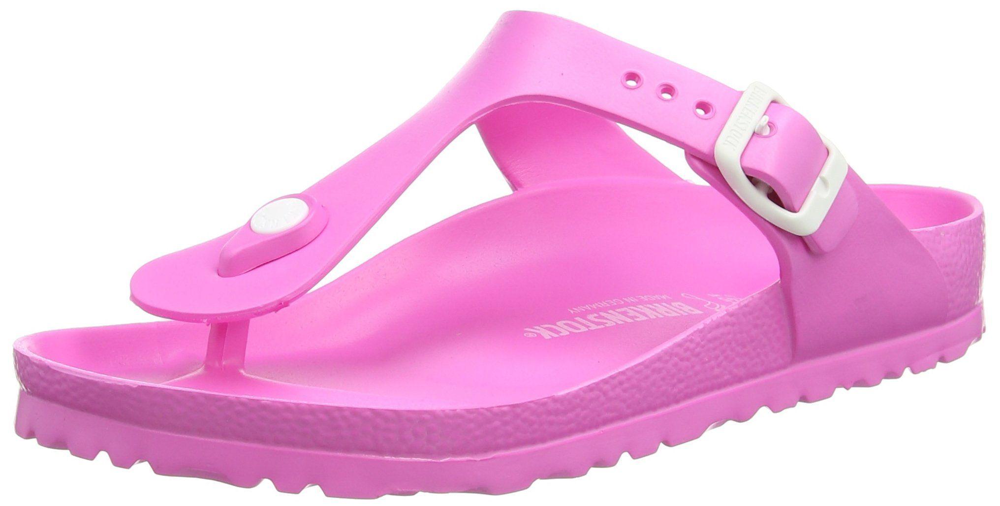 Birkenstock Gizeh Eva Regular Fit Womens Sandals Neon Pink
