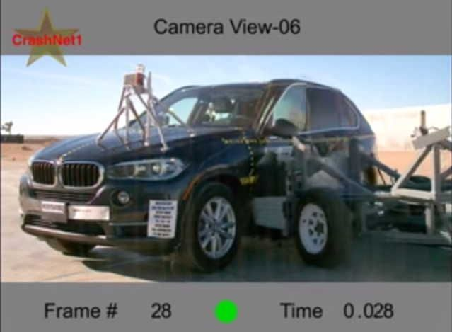 Bmw X5 Gets 5 Stars Crash Safety Rating When The New X5 Hit The
