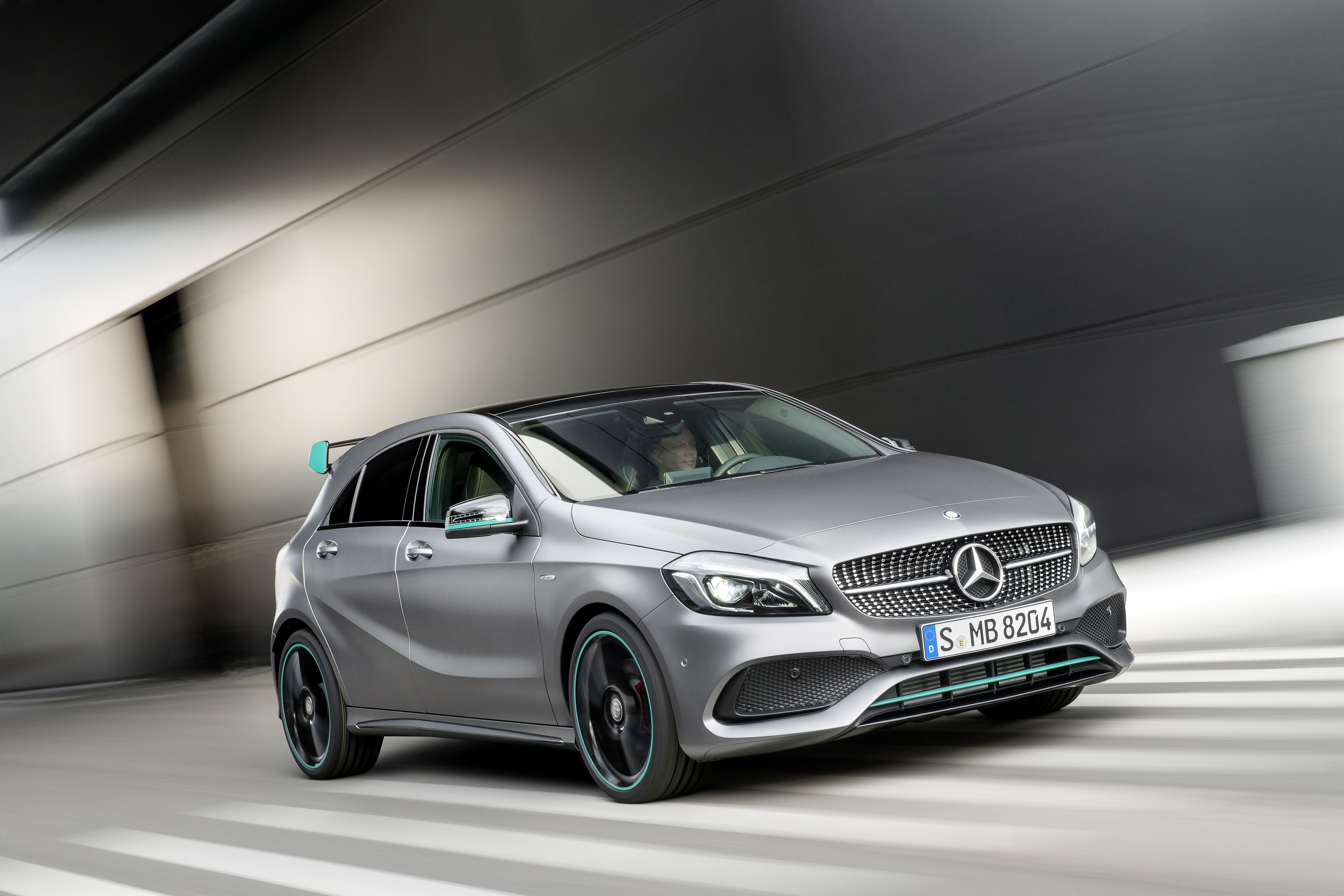 New Mercedes A Class Revealed Mercedes Benz Mercedes A Klasse