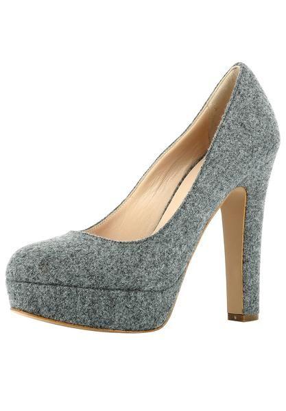EVITA Damen Pumps grau graumeliert | Frauenschuhe shoes
