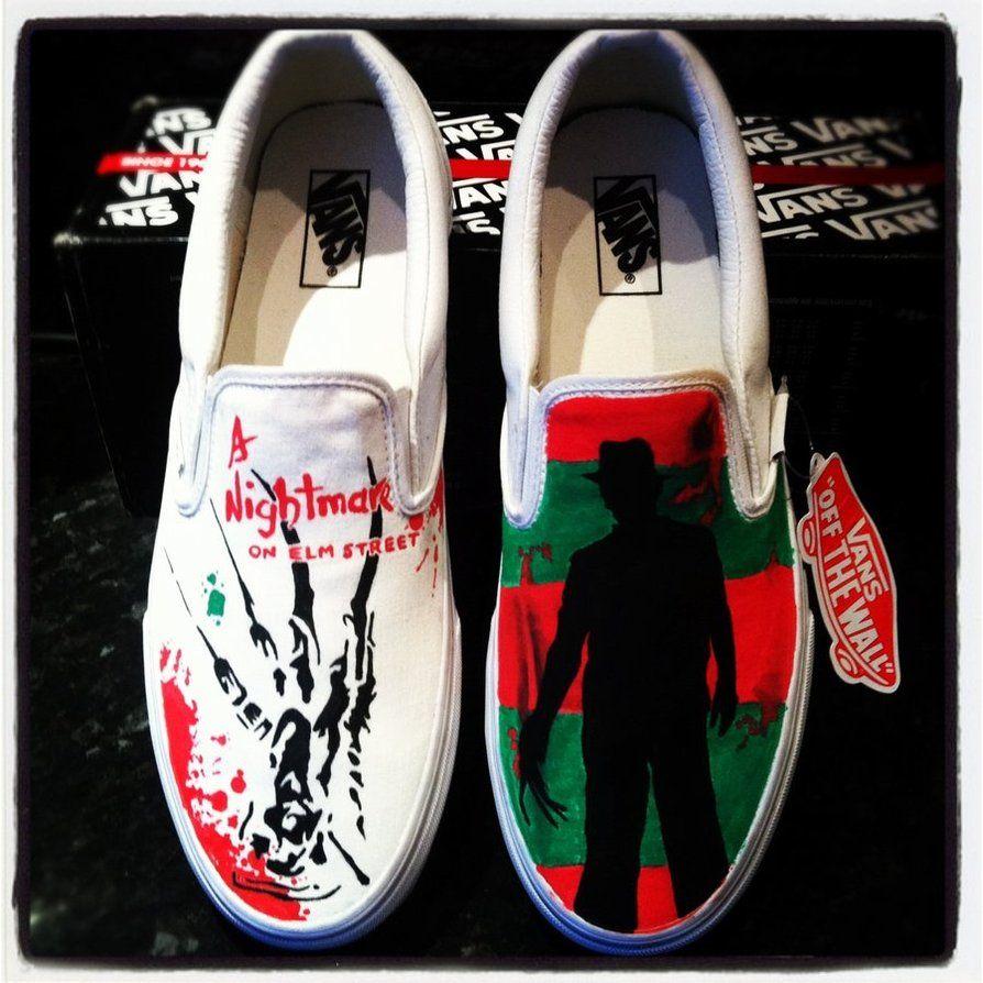 8d56188948f4 Freddy Krueger Vans Elm Street