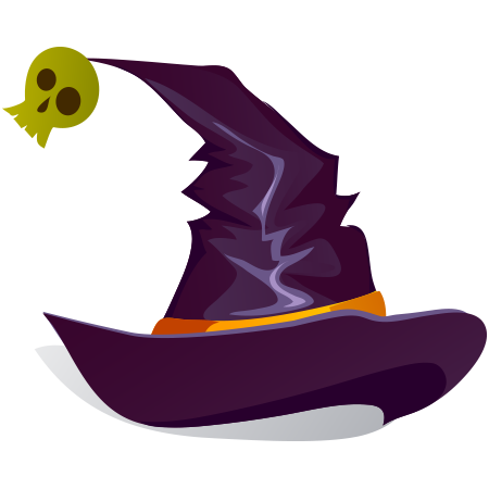 Witch Hat Emoticon Halloween Hats Witch Hat Witch Hat Illustration