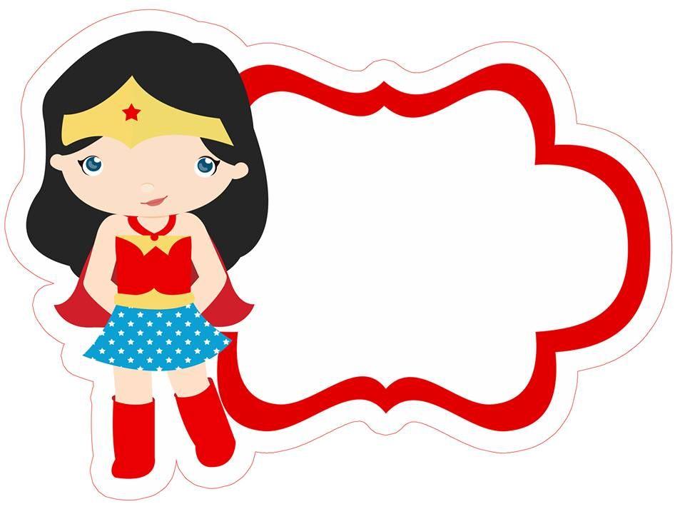 marcos divertidos | fondos | Pinterest | Wonder Woman, Clip art and ...