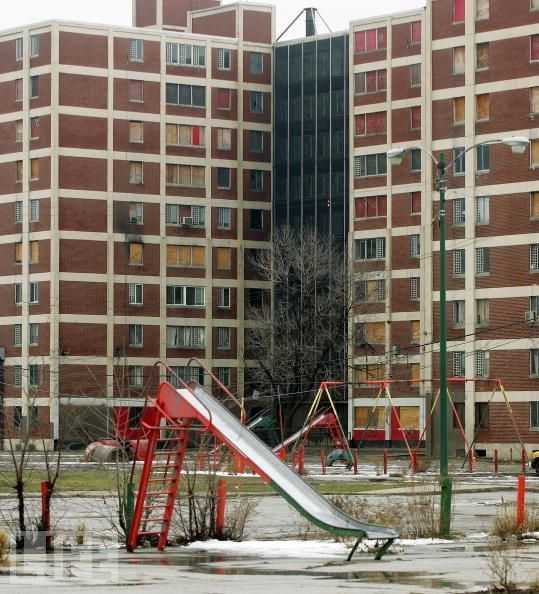 Cabrini-Green In Its 'prime', Now Torn Down Because Of The