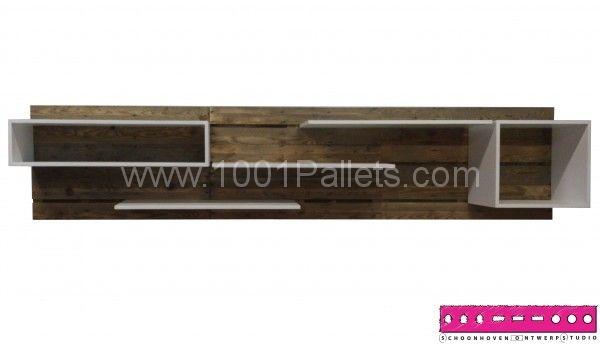 Self the pallet shelf | 1001 Pallets