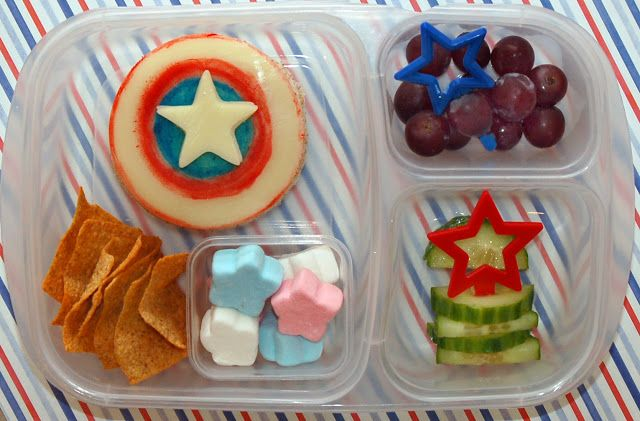 Cookie Cutter Lunch: The First Avenger