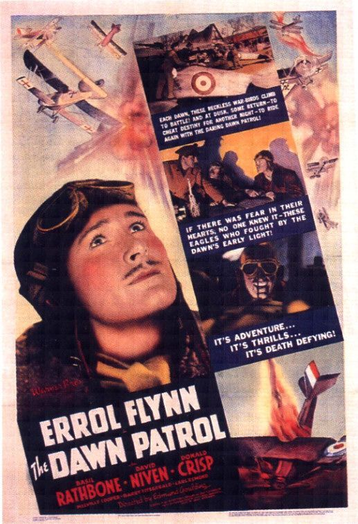 The Dawn Patrol (1938) - Errol Flynn