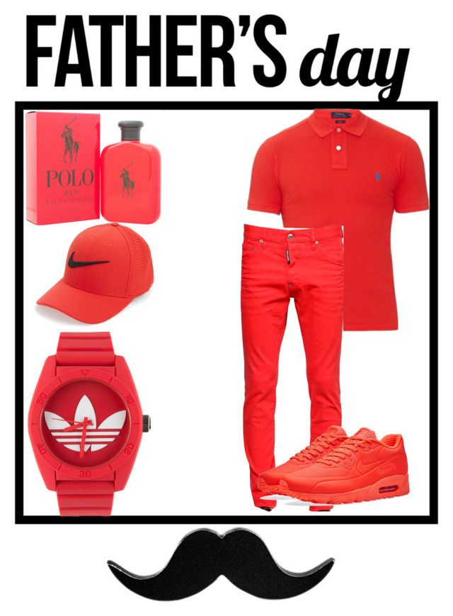 """""""Father's Day - contest"""" by glo-bby-ry04 ❤ liked on Polyvore featuring Würkin Stiffs, Ralph Lauren, adidas, NIKE, Polo Ralph Lauren, Dsquared2, men's fashion, menswear and fathersdaygiftguide"""