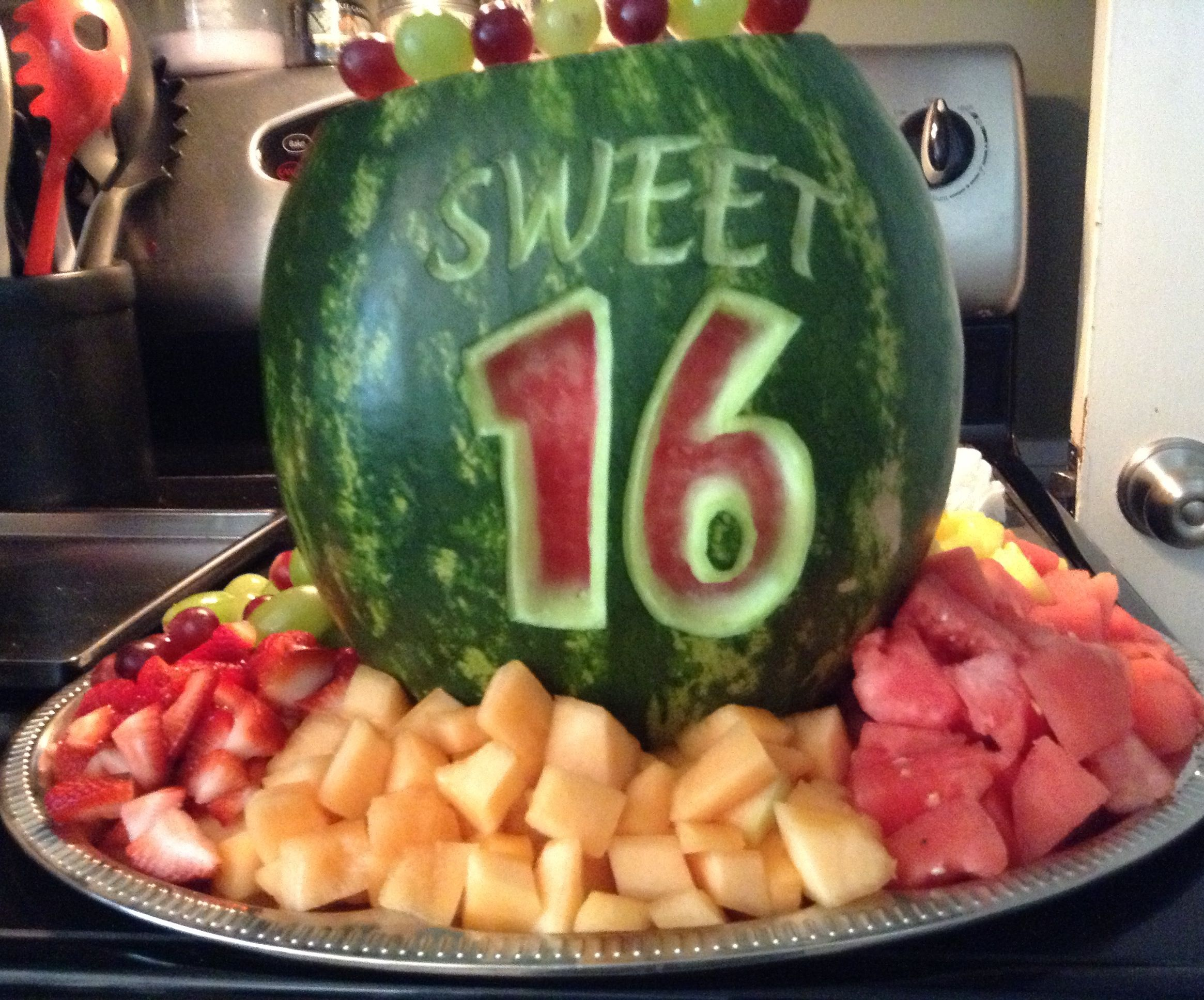 Ambers sweet watermelon i carved cooking ideas pinterest
