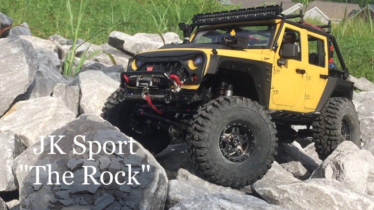 Xtra Speed Jeep Jk Hardbody V2 Axial Scx10ii Jk Sport The Rock