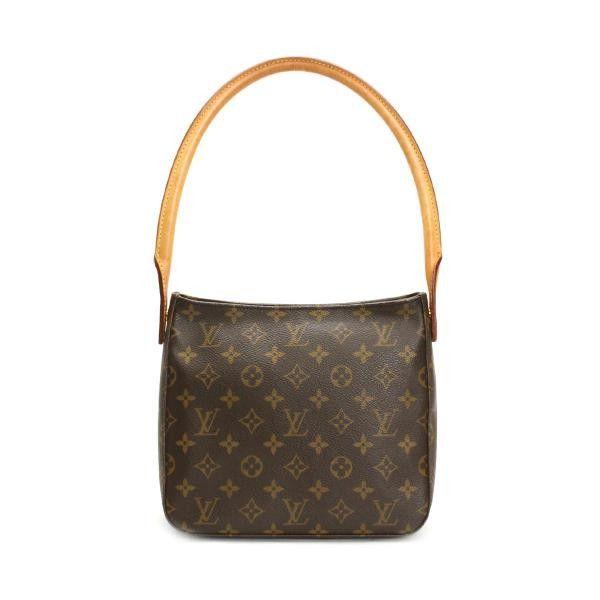 c645157cb9c9 Louis Vuitton Looping MM Monogram Shoulder bags Brown Canvas M51146 ...
