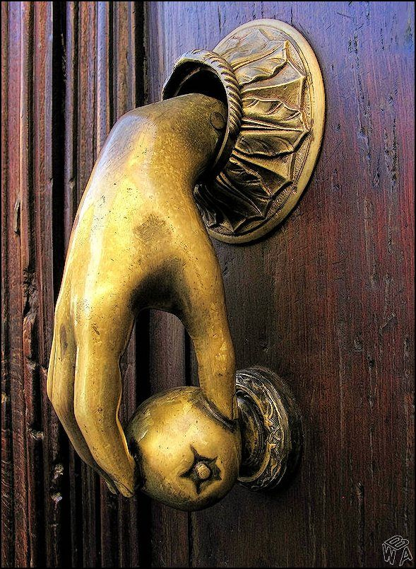 We Absolutely Love Unique Door Knockers. What A Statement Piece.