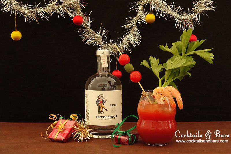 Australian Christmas Cocktails Hippo Bloody Mary Vodka Cocktail
